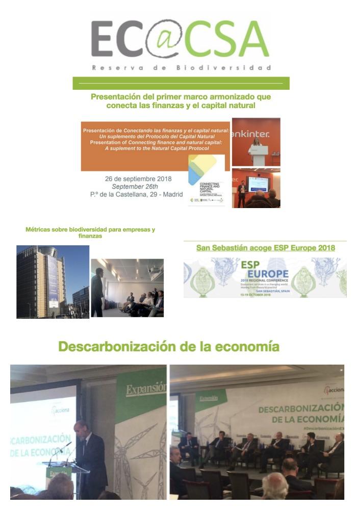 Boletín Ecoacsa septiembre 2018