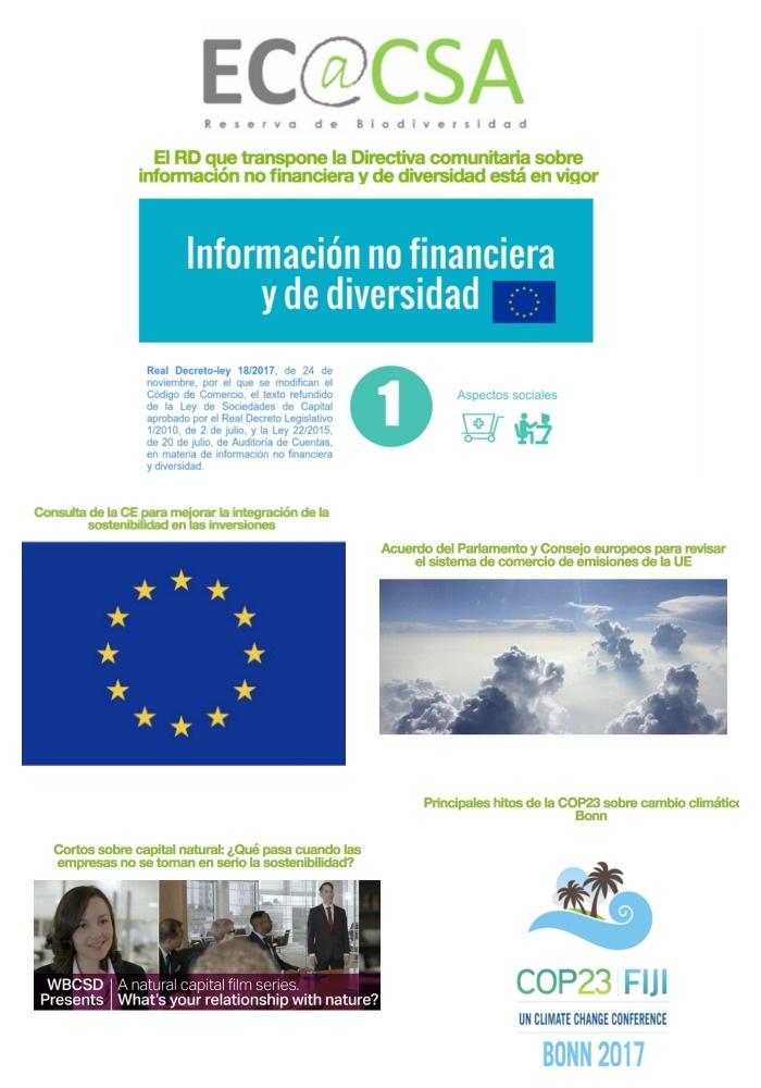 Boletín Ecoacsa - Noviembre 2017