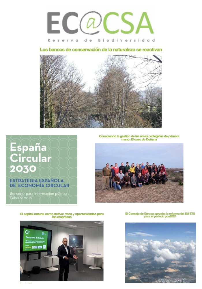 Boletín Ecoacsa - Febrero 2018