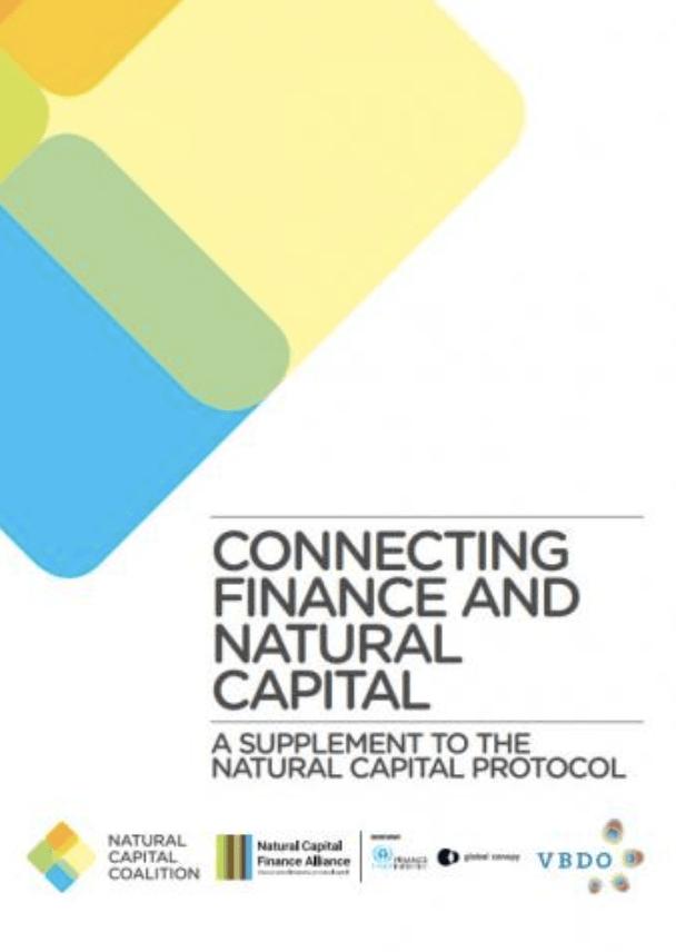 Conectando las finanzas y el capital natural